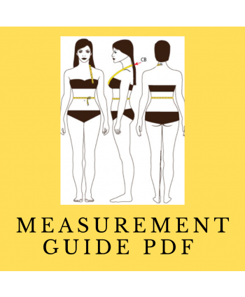 FREE PDF Custom Measurements Printable/Fillable Guide