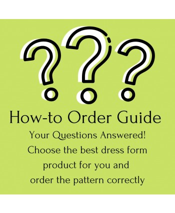 Free BootstrapFashion DIY Dress Form Product Guide