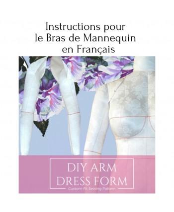 Instructions pour le bras de mannequin en français