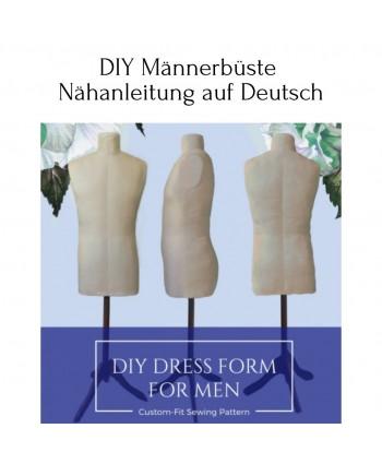 DIY Männerbüste Nähanleitung auf Deutsch