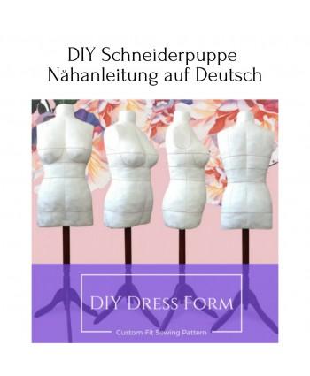 DIY Schneiderpuppe Nähanleitung auf Deutsch