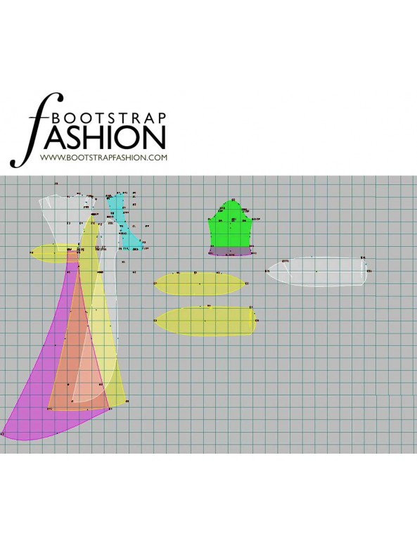Fashion Designer Sewing Patterns - Couture Overcoat