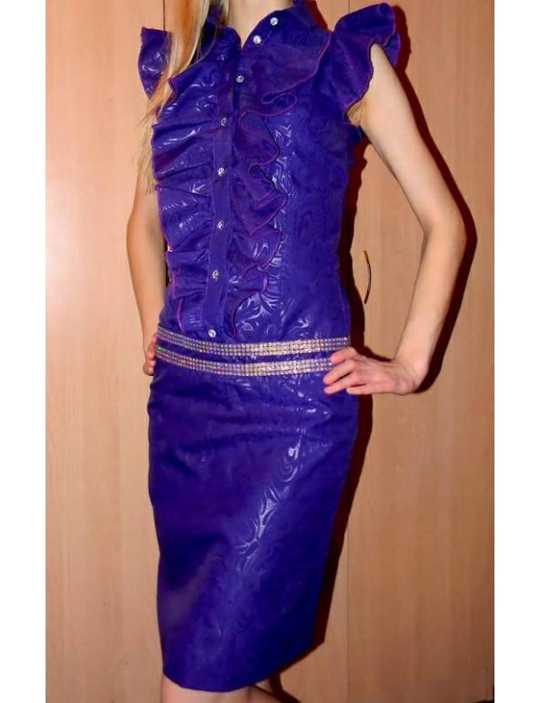 Fashion Designer Sewing Patterns - Ruffle Front Blouse