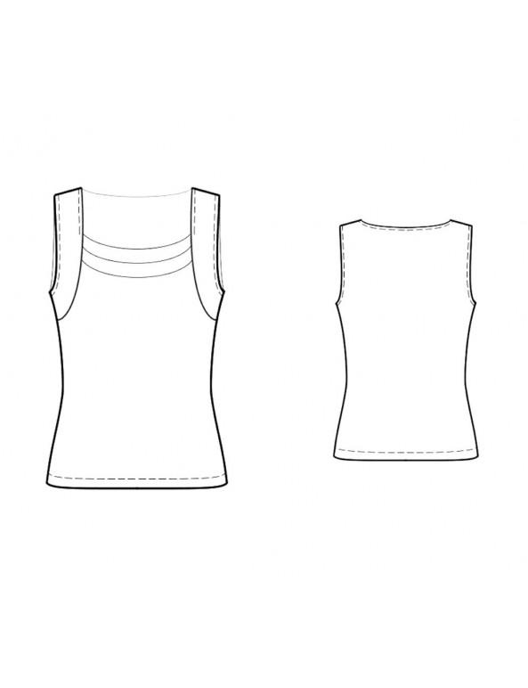 Fashion Designer Sewing Patterns - Knit Tank Top