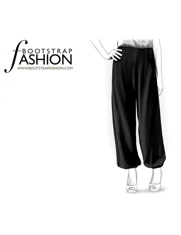 Fashion Designer Sewing Patterns - Baloon Pants