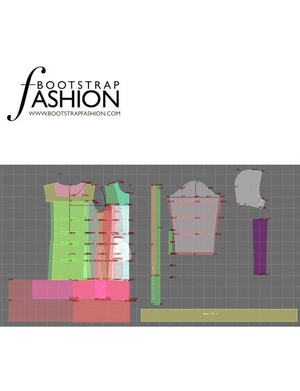 Fashion Designer Sewing Patterns - Puff-Style Coat with Belt and Hood