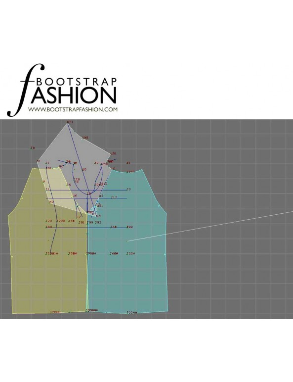Fashion Designer Sewing Patterns - Kimono-Style Reglan Sleeve Knit Dress