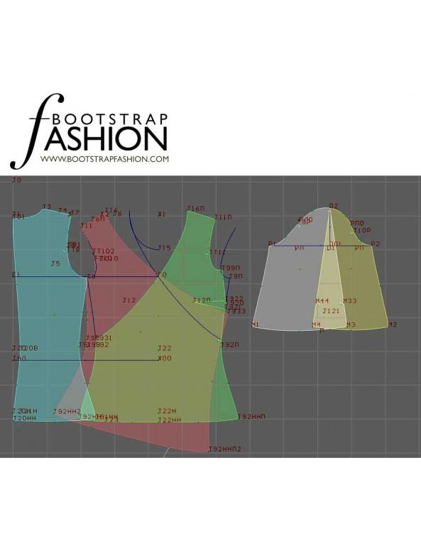 Fashion Designer Sewing Patterns - Wrap Blouse