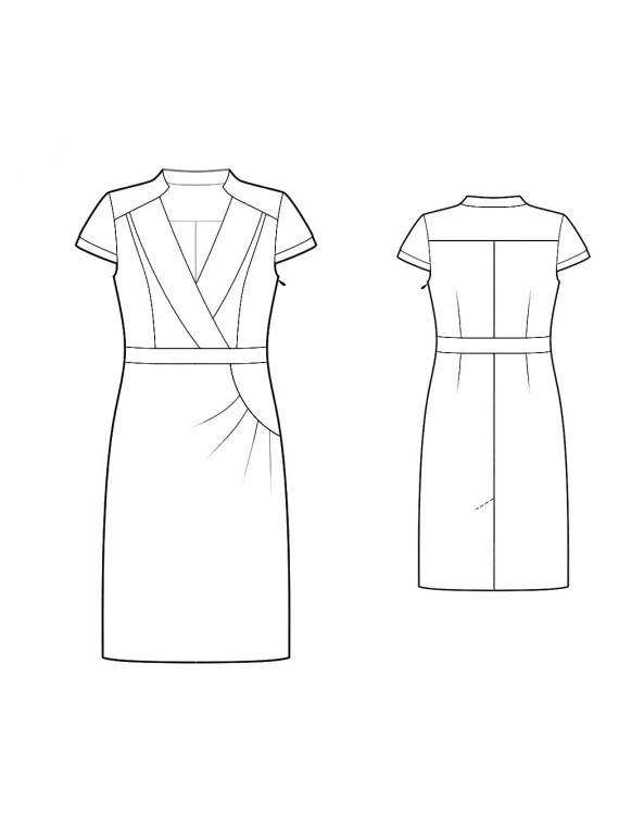 Fashion Designer Sewing Patterns - Updated Tailored Dress