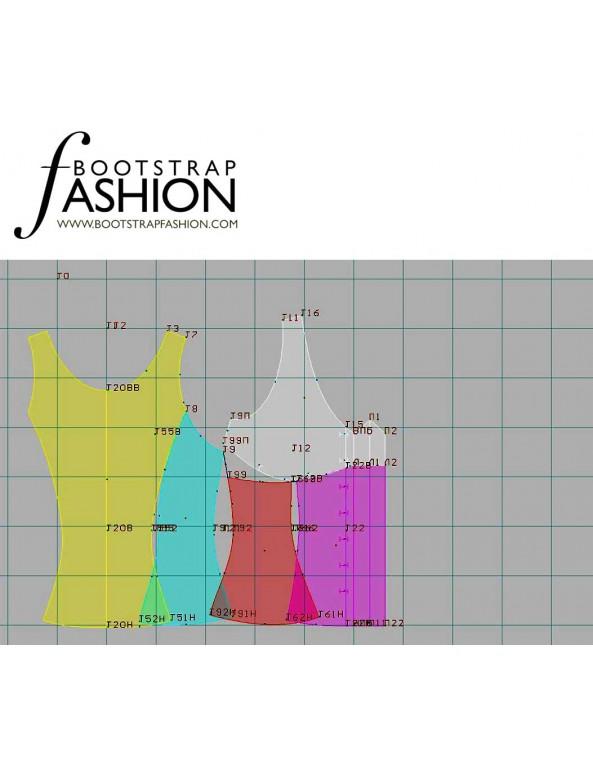 Fashion Designer Sewing Patterns - Pajama Top
