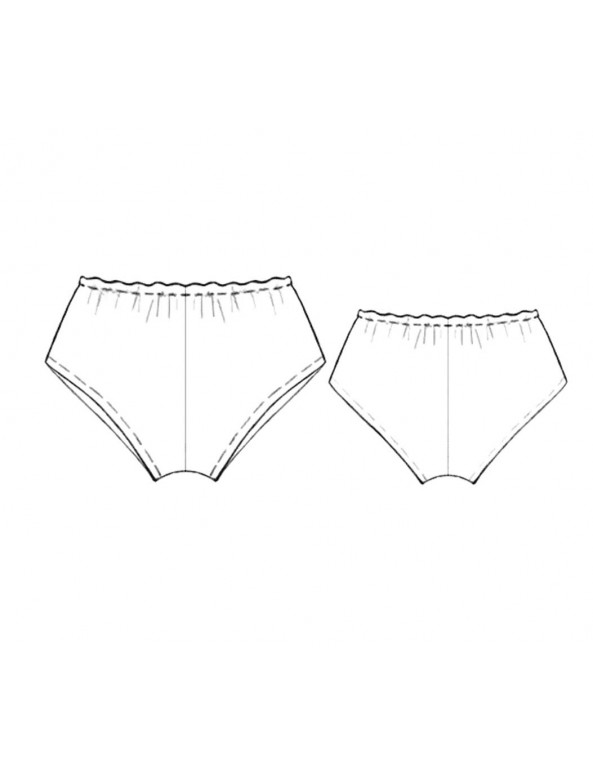 Fashion Designer Sewing Patterns - Vintage Panty