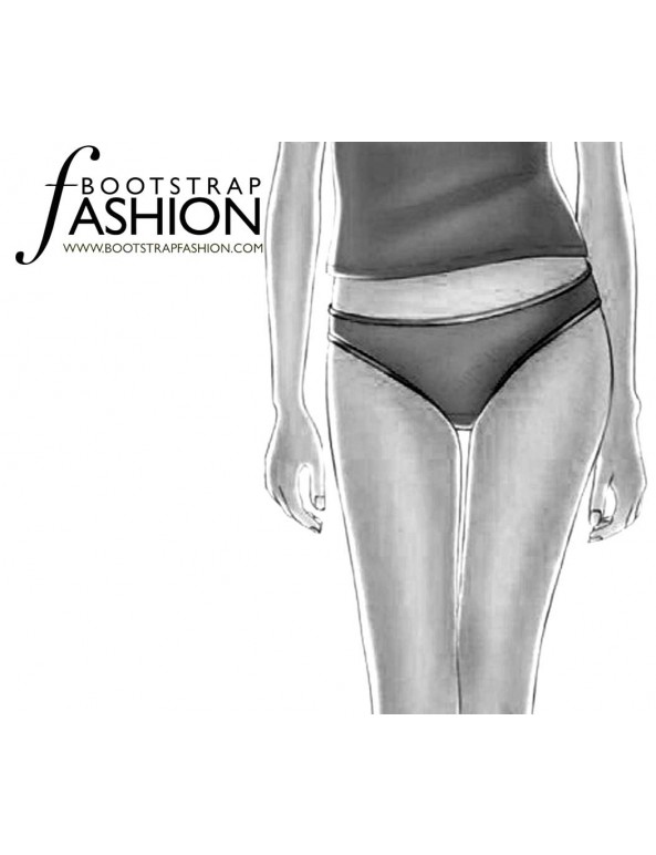 Fashion Designer Sewing Patterns - Bikini Panty