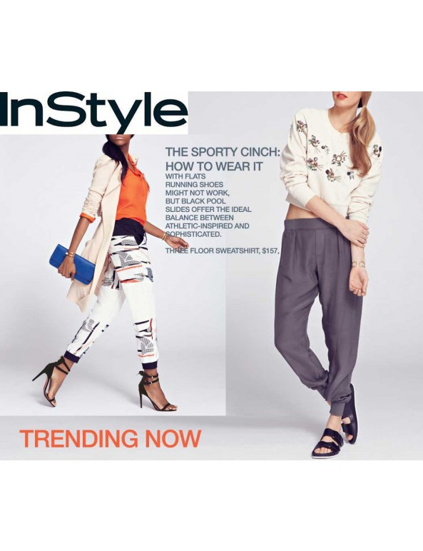 Fashion Designer Sewing Patterns - Sporty Cinch Pants