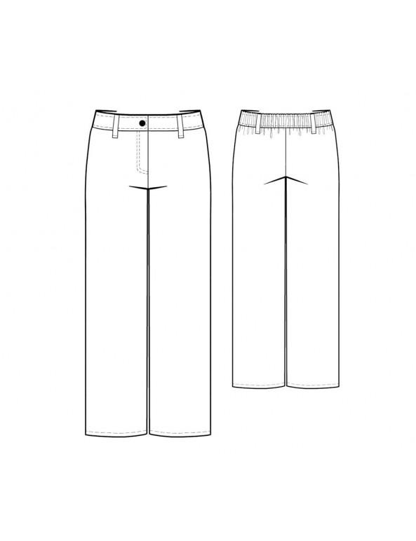 Fashion Designer Sewing Patterns - Straight Leg Trousers