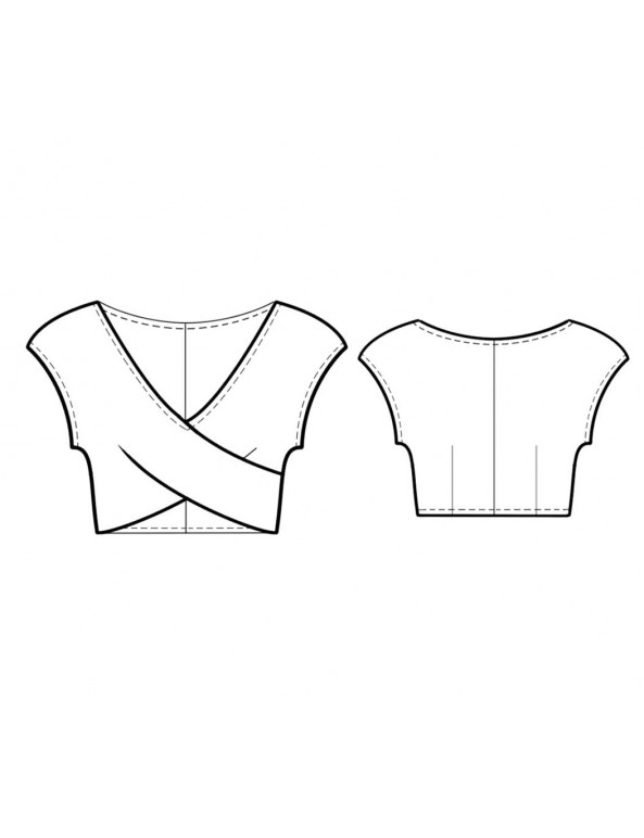 Fashion Designer Sewing Patterns - Cropped Bodice