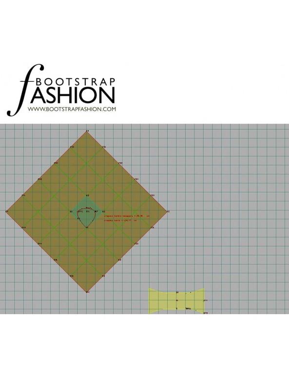 Fashion Designer Sewing Patterns - Poncho