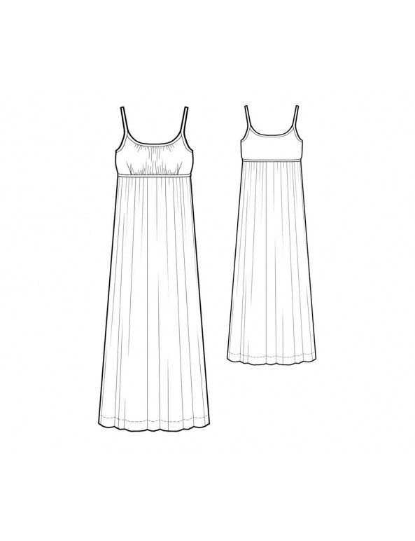 Fashion Designer Sewing Patterns - Empire Waist Gown