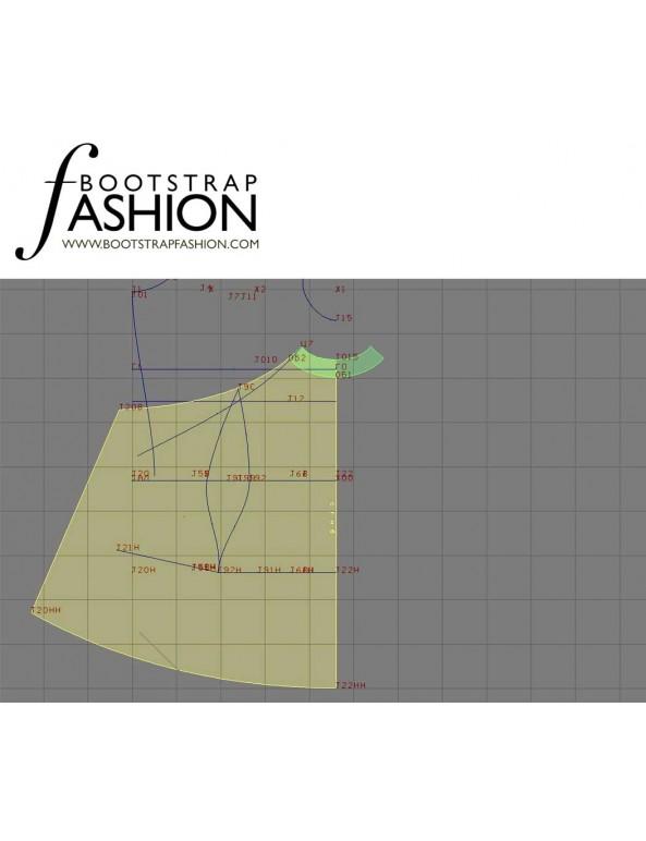 Fashion Designer Sewing Patterns - Tie-Neck Halter Dress