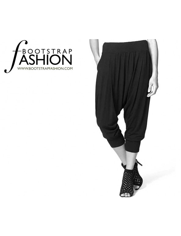 Fashion Designer Sewing Patterns - Harem Pants