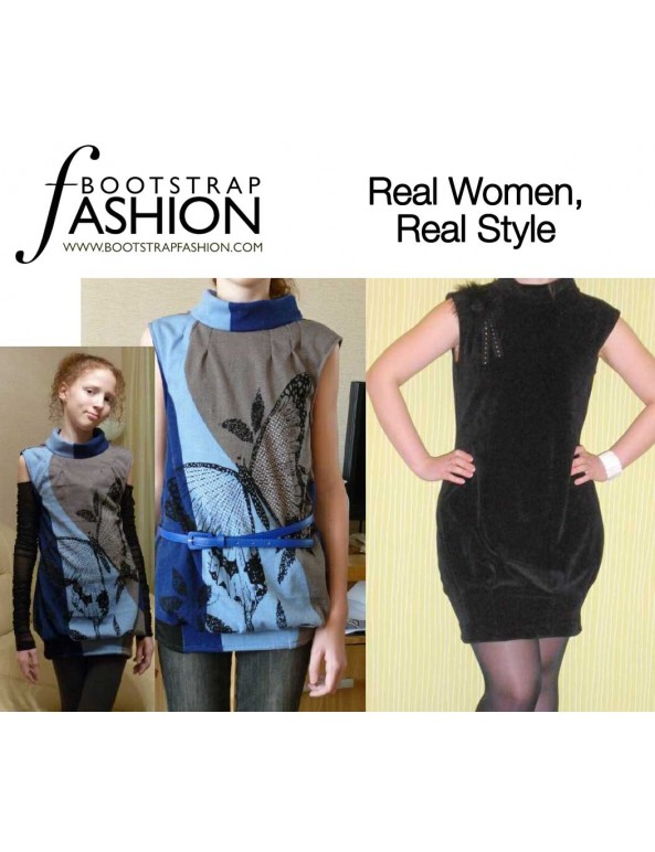 Fashion Designer Sewing Patterns - Sleeveless Bloomer Dress