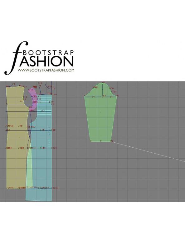 Fashion Designer Sewing Patterns - Elegant Fitted Dress